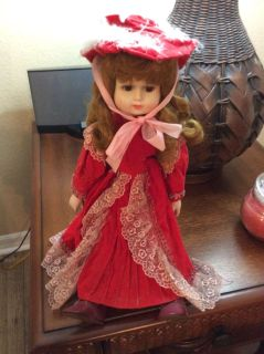 Collector Porcelain Doll