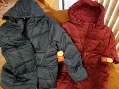 Puffy jacket. **NEW WITH TAGS. Size XXL