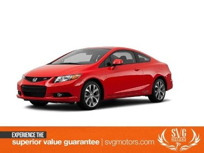 2012 Honda Civic Si (Rallye Red)