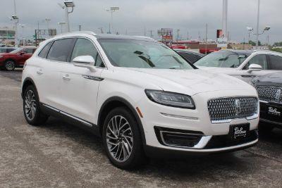 2019 Lincoln Nautilus (White Platinum Metallic Tri-Coat - White)