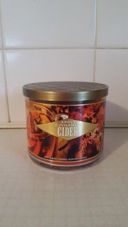 New Bath & Body Works 3 Wick Fall Scent Candle