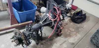 Quick change, 383 SBC, 2 Falcon transmissions