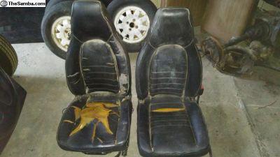 Porsche 944 front seats