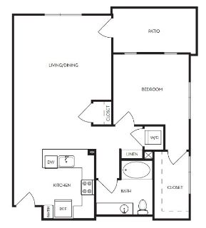$8580 1 apartment in Menlo Park