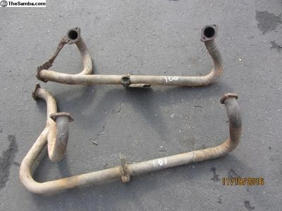 vanagon exhaust pipes for late vanagons