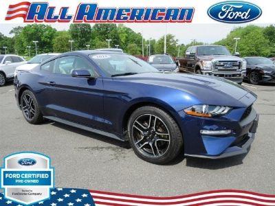 2018 Ford Mustang EcoBoost Premium (Kona Blue Metallic)