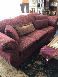Beautiful couch and Loveseat set