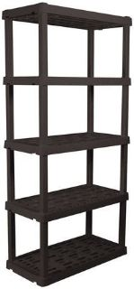 Wood shelf- adjustable 5 tier