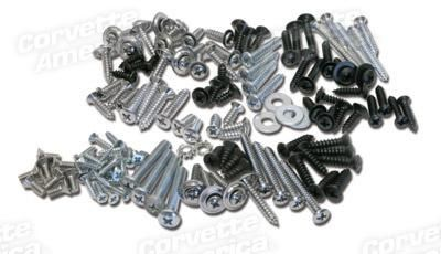 Purchase Corvette America # K1117 Interior Screw Kit (136 Pieces) motorcycle in Duluth, Georgia, US, for US $29.95