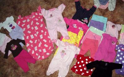Baby Girl New Born Clothes