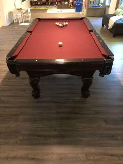 Beringer pool table and Kettler ping pong table
