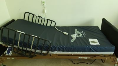 Brand new full electric hospital bed with mattress