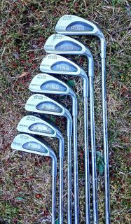 Ping Karsten green dot incomplete set clubs. 3-9 irons