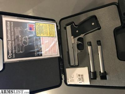 """For Sale: K40 Elite w/ Night Sights K4048NA (3.5"""" Barrel) Polished stainless steel, Elite 2003 with tritium night sights"""