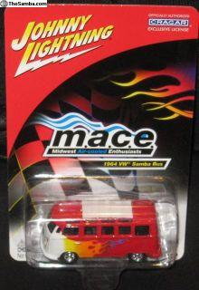 Johnny Lightning MACE 1964 Samba Bus