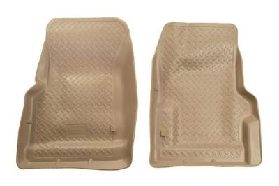 Sell Husky Liners 31733 97-02 Jeep Wrangler Tan Custom Floor Mats 1st Row motorcycle in Winfield, Kansas, US, for US $91.95