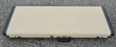Fender Stratocaster/Telecaster Case - Blond Tolex W/ Green Poodle Interior - BRAND NEW