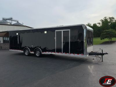 28' United Super Spread Axle Stage III Race Car Trailer