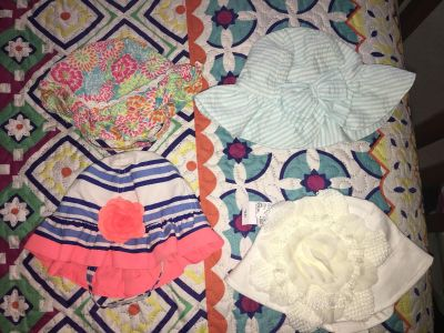 Baby Girl Hats 0-6 month