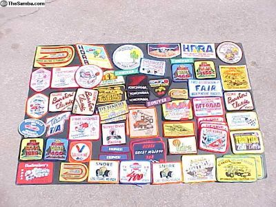 1980's Off Road event patches
