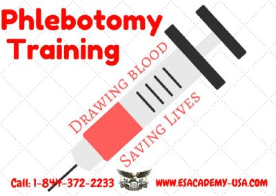Phlebotomy classes filling up fast!