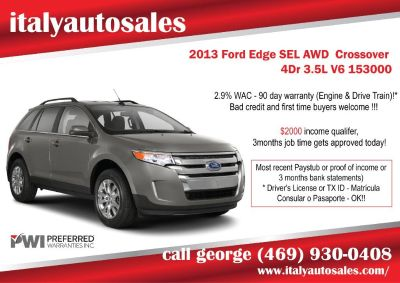 2013 Ford Edge SEL AWD Crossover