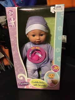 New! Baby doll with sounds