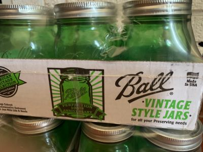Vintage Ball Pint Jars - Unopened