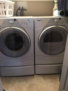 Whirlpool Duet Front Load Washer & Dryer