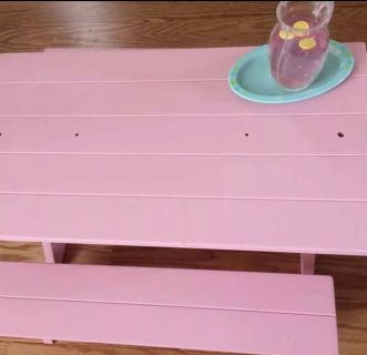 American girl picnic table & accessories