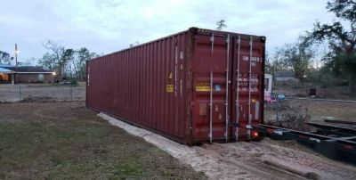 Used 40' HC Shipping Container