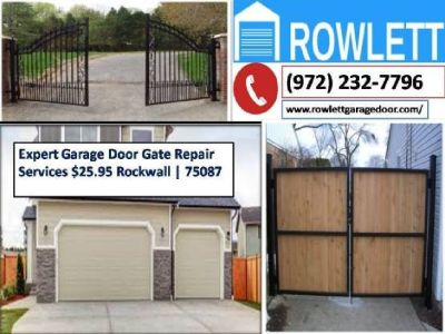 24/7 Emergancy Automatic Gate Opener Repair ($25.95) Rockwall Dallas, 75087 TX