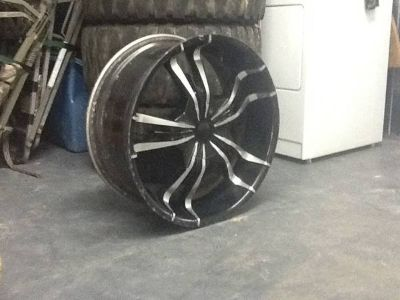 22 inch 6 lug universal rims and tires