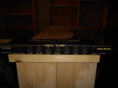 Real Tube - Tube Guitar Rack Mountable Preamp & Overdrive