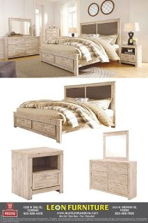 Buy Willabry King Storage Bedroom Collection | Leon Furniture Store