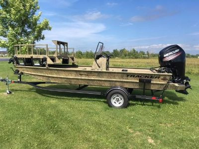 2018 Tracker Grizzly 1860 CC Sportsman Jon Boats Appleton, WI