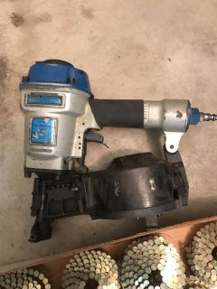 Coil roofing nailer, Central Pneumatic Professional