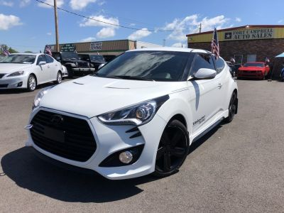 2013 HYUNDAI VELOSTER TURBO COUPE 3D 4-Cyl 1.6 Liter