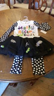 Girls 6t halloween outfit