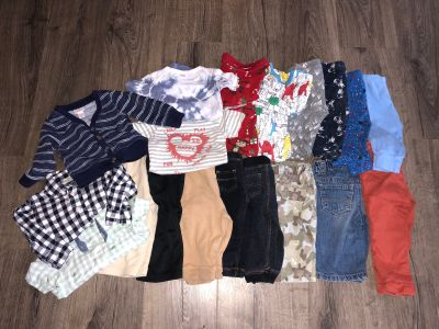 Baby boy clothing lot 6-12 months