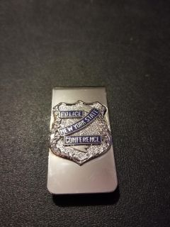 Vintage Police State Conference money clip