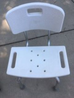 New Roscoe Medical Adjustable Shower Chair