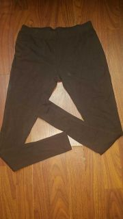 Never worn ladies XS Faded Glory brown stretch leggings