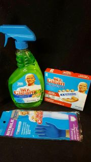 Mr clean cleaning lot
