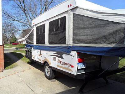 By Owner! 2008 22ft. Coachmen Clipper 1175SC toy hauler
