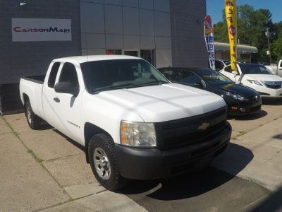 2009 Chevrolet Silverado 1500 Work Truck (White)