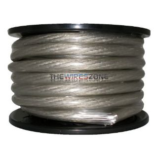 The Wires Zone PW4R-100 High Performance Red 4 Gauge 100/' Feet Power Cable Wire