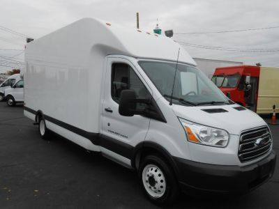 $23,990, Check Out This Spotless 2015 Ford Transit Cutaway with 81,379 Miles