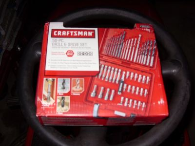 50 pc. drill driver set craftsman