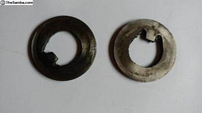 Early bay bus thrust washers